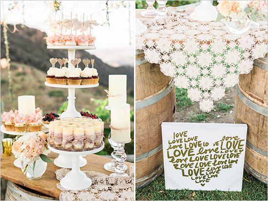 Matrimonio Rustico Shabby Chic : Estilo de boda rustico shabby chic mesa dulces