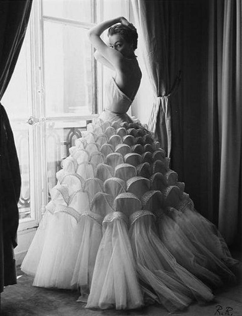 Vestido de novia vintage Dior