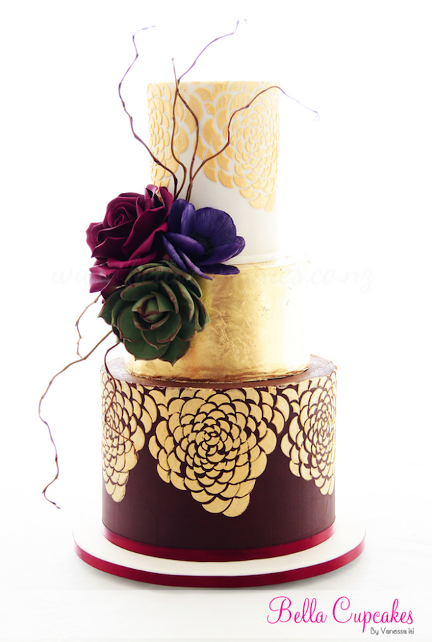 metallic-wedding-cake-12b