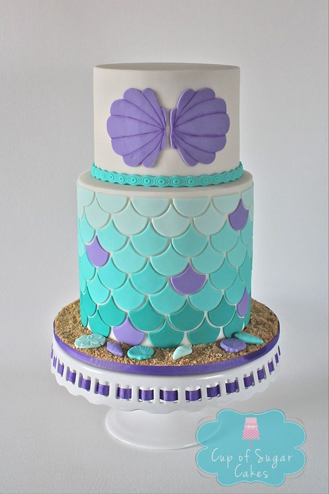The Lil Mermaid Cakes