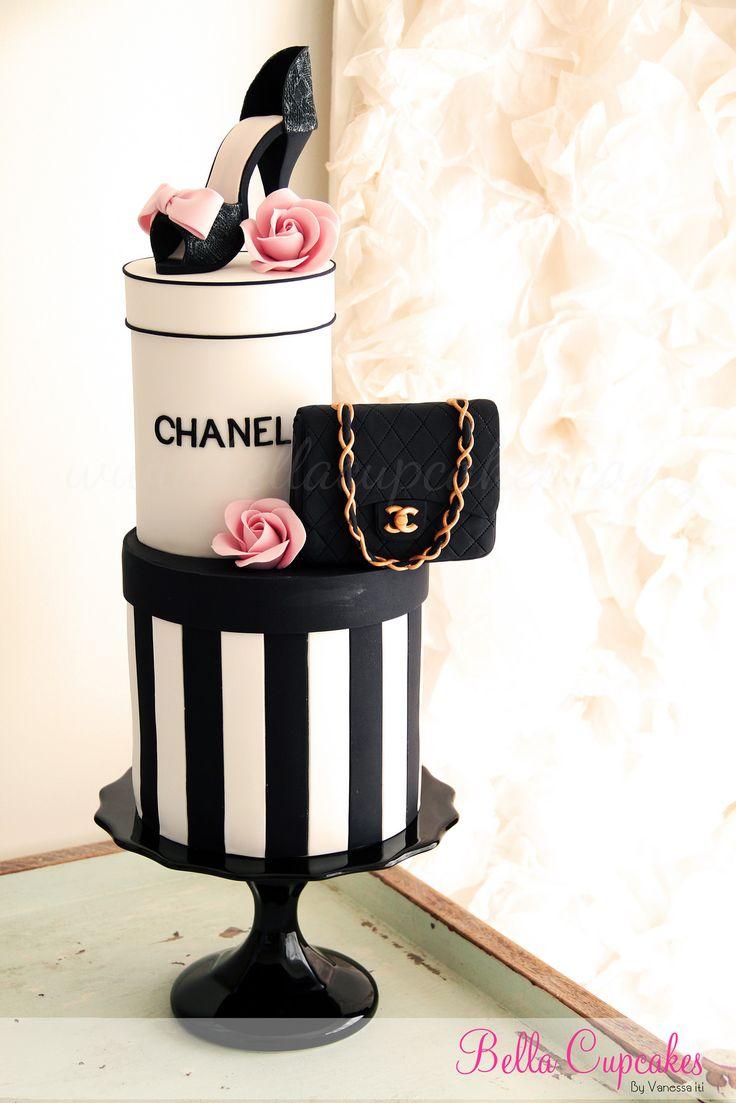 Pasteles Para Las Mas Fashionistas Chanel Louis Vuitton