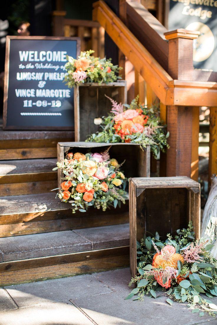 Ideas para una fiesta vintage chic rustica y nost lgica for Decoracion rustica para bodas