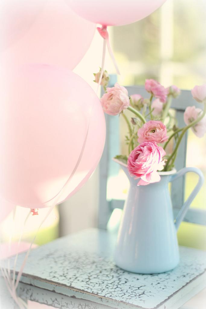 Ideas para una fiesta vintage el rom ntico shabby chic luz angela - Fotos flores preciosas ...
