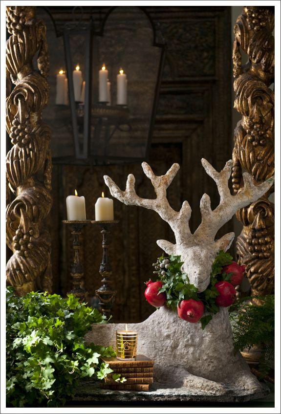 Ideas para una fiesta de navidad luz angela - Decoracion navidena para exteriores ...