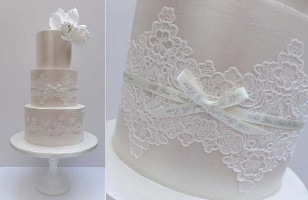 Lace-sash-wedding-cake-by-Scrumdiddly-UK