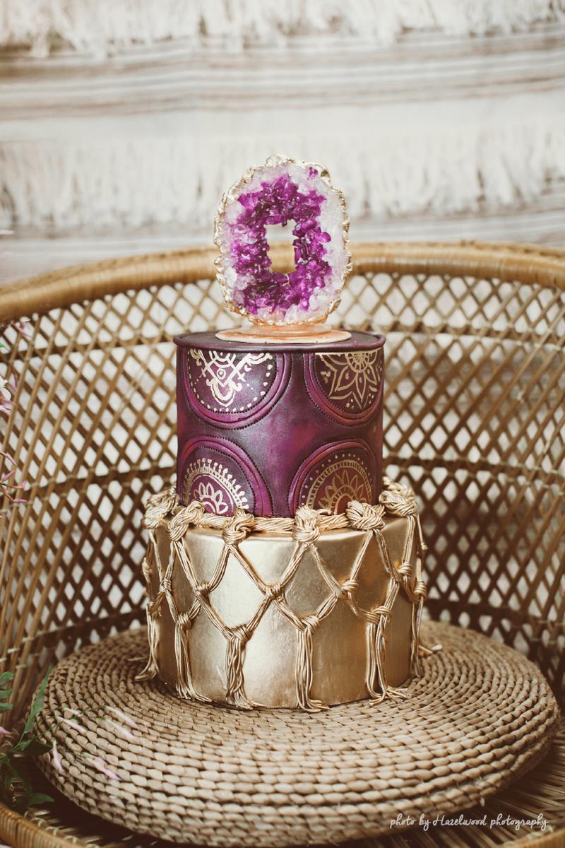 boho_cake_rock_candy_geode
