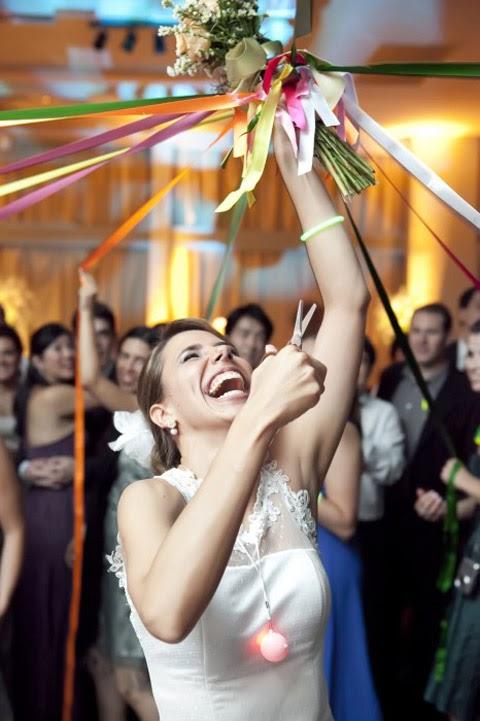 lanzar ramo de novia bodas