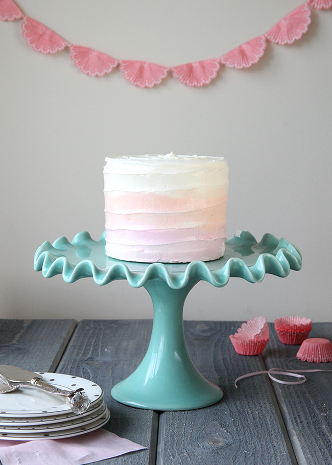 how to make buttercream with concrete effect