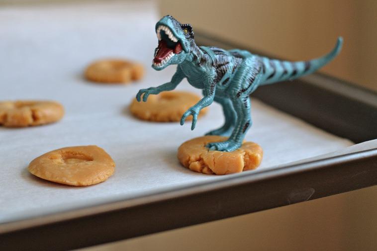 t rex cookies