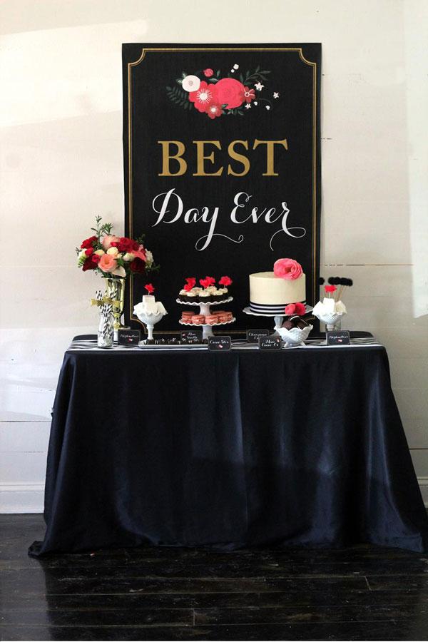 bridal-shower-dessert-buffet