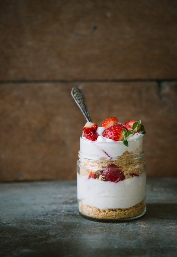 Individual-No-bake-Cheesecake-Glass