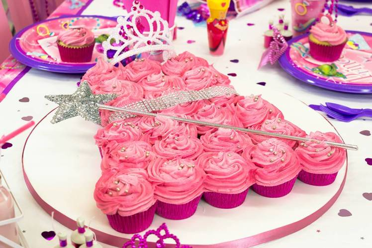 princess-dress-cupcake-cake
