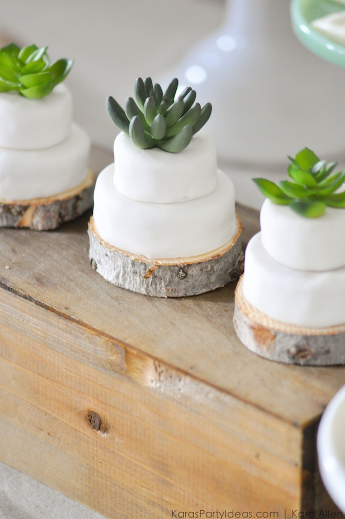 mini-succulent-cakes-at-a-bee-baptized-bee-themed-baptism-birthday-party-by-kara-allen-karas-party-ideas-karaspartyideas-com-baby-shower-ideas-too-98
