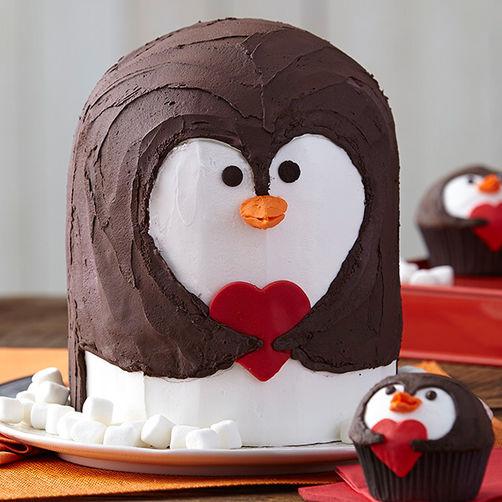 penguin-valentines-day-cake