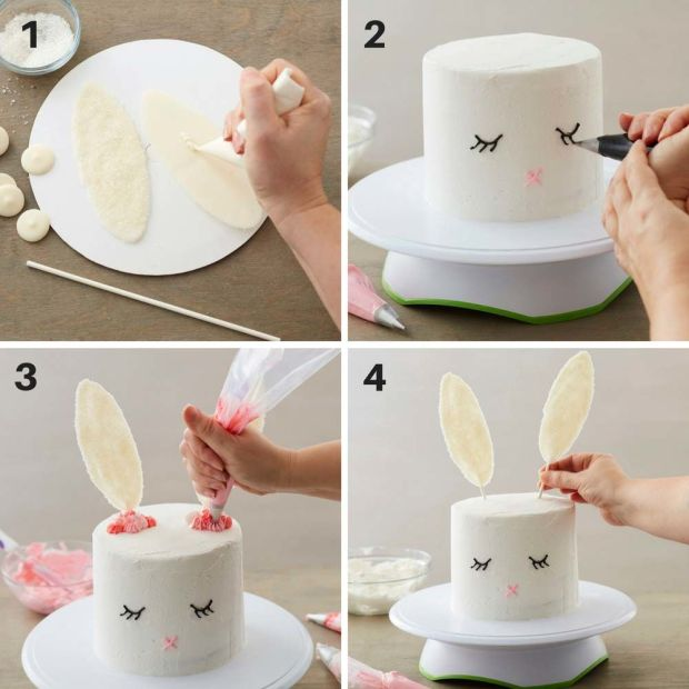 Step-out - Bunny Cake
